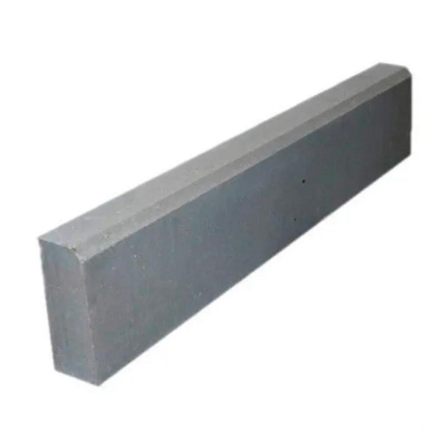 Бордюрный камень Бордюр тротуарный 1000х220х75 для мощения тротуаров, дорожек, площадок