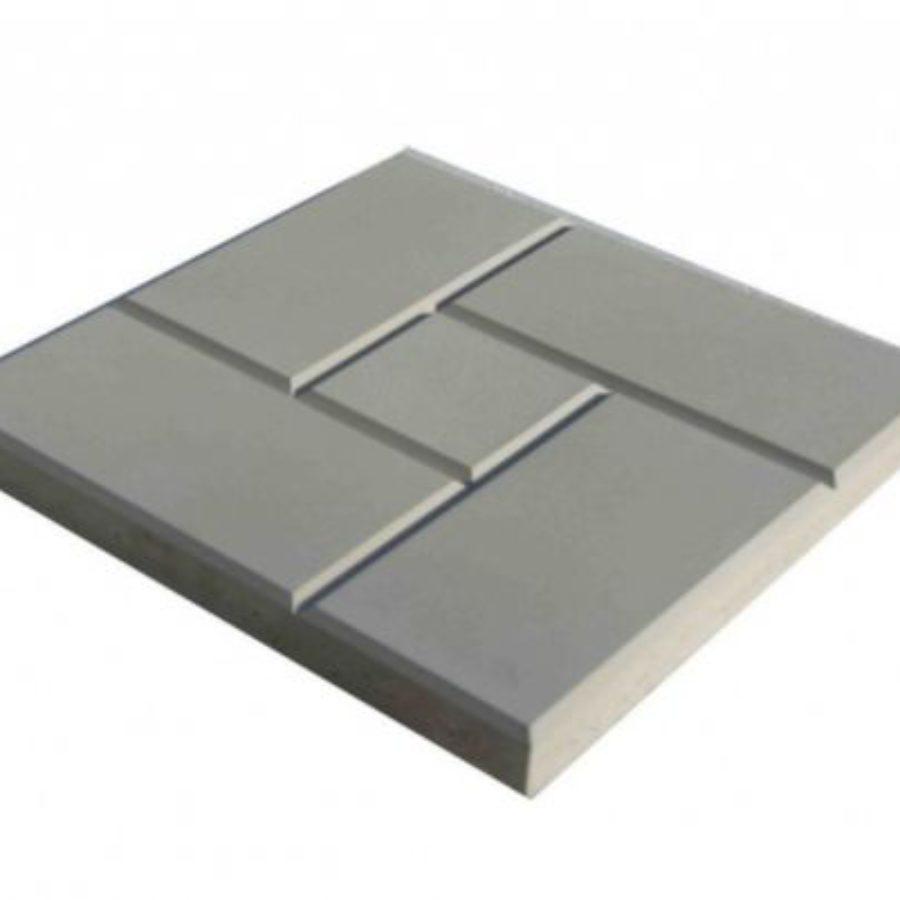 Тротуарная плитка Калифорния серая 300*300*30 купить от производителя по низкой цене