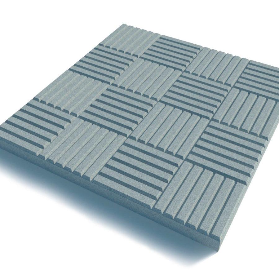 Тротуарная плитка Паркет серая 300*300*30 купить недорого оптом и в розницу от производителя